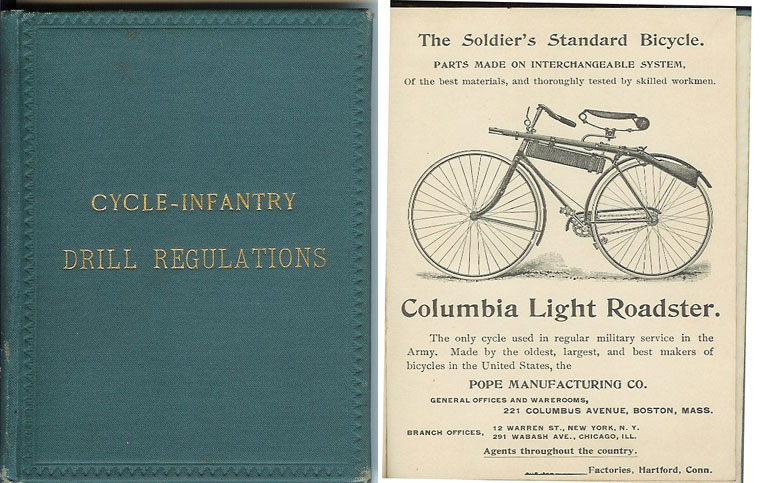 CYCLE-INFANTRY DRILL REGULATIONS. Prepared by Brig. Gen. Albert Ordway. Adapted March 25, 1892. Brig. Gen. Albert Ordway.