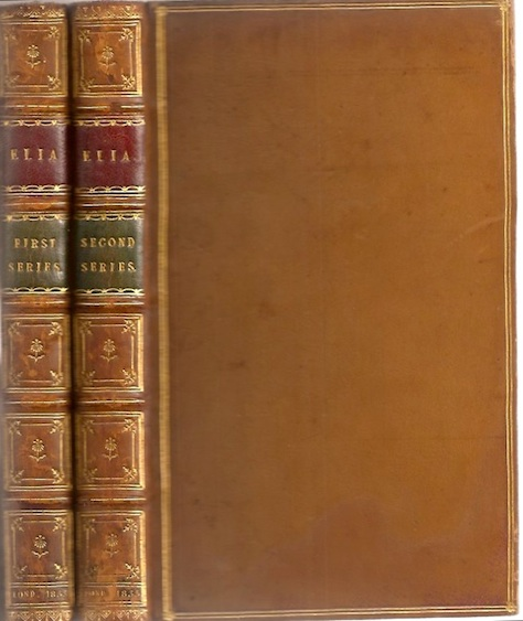 ELIA: First Series (and) ELIA: Second Series. Charles Lamb.