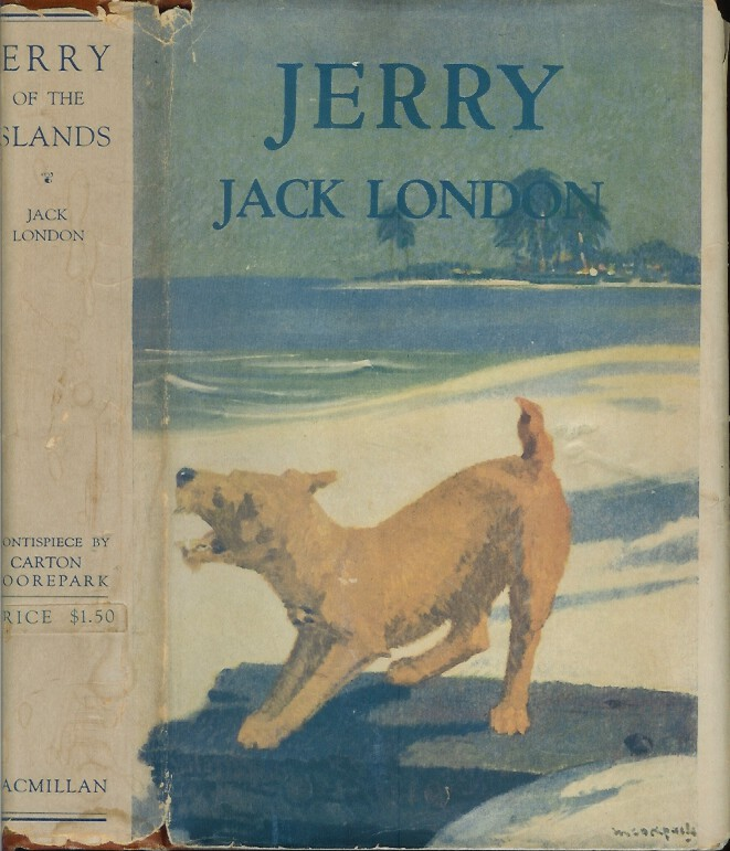 JERRY OF THE ISLANDS. Jack London.