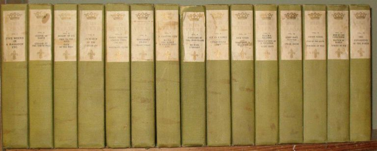 THE WORKS OF JULES VERNE: Edition D'Amiens. (Complete in 15 volumes). Jules Verne, Charles F. Horne.