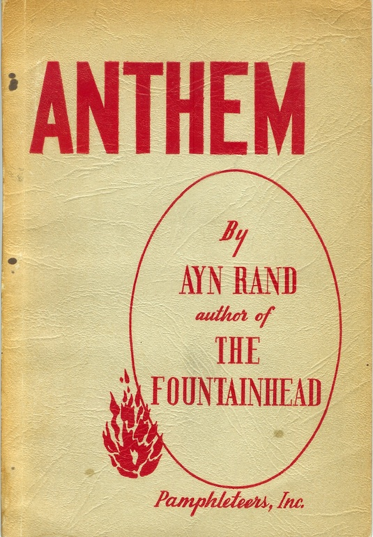 Anthem Ayn Rand Second Issue