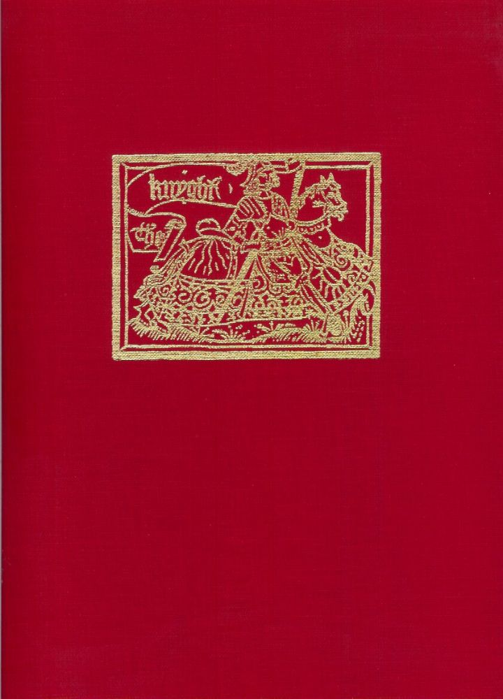 THE BOOK OF GEOFFREY CHAUCER: An Account of the Publication of Geoffrey Chaucer's Works from the Fifiteenth Century to Modern Times. (Leaf Book). Charles Muscatine.