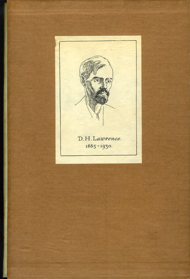 THE LETTERS OF D. H. LAWRENCE. D. H. Edited and Lawrence, Aldous Huxley.