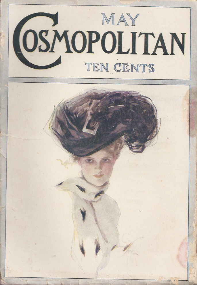 """MY LIFE IN THE UNDERWORLD. (in the May, 1907 issue of """"Cosmopolitan Magazine."""" Later collected in The Road). Jack London."""