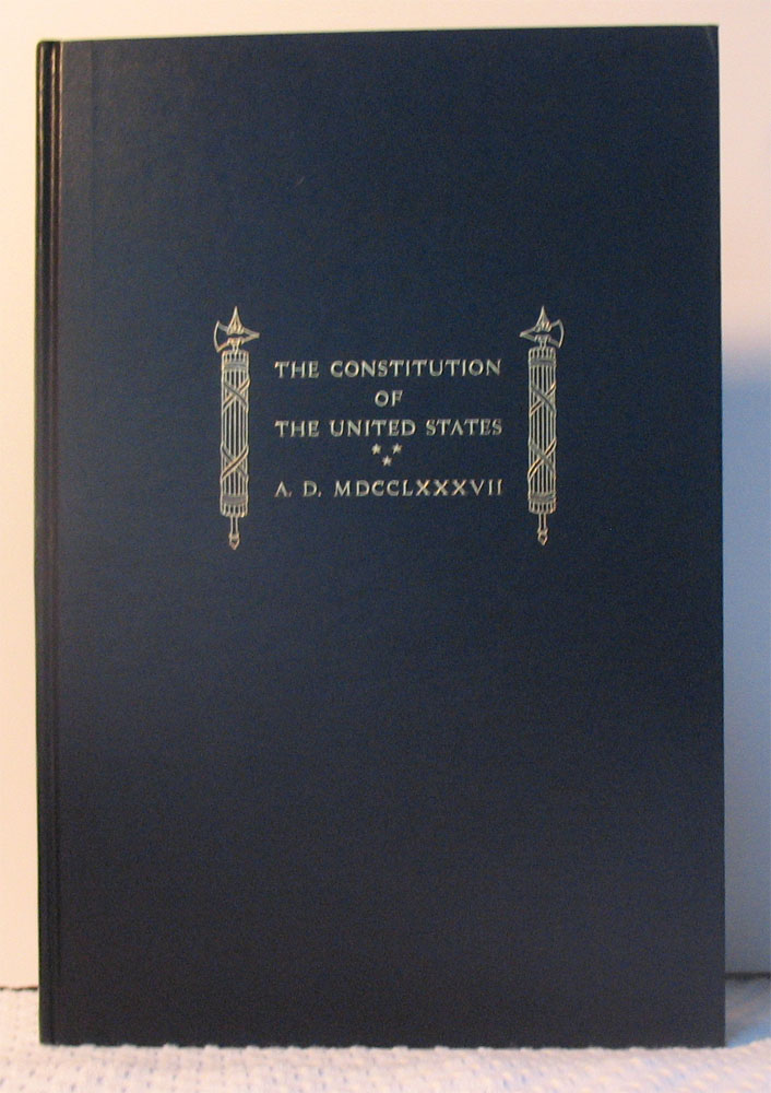 THE CONSTITUTION OF THE UNITED STATES OF AMERICA. James Madison, Bruce Rogers.