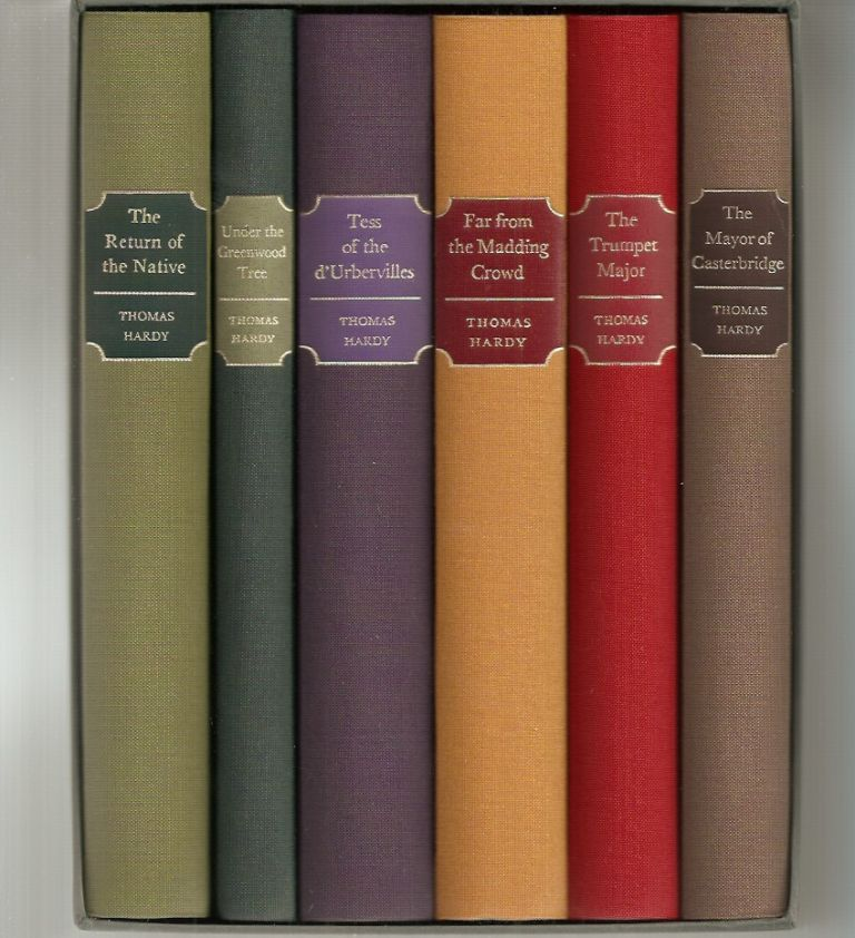 Far from the Madding Crowd, The Mayor of Casterbridge, The Return of the Native, Tess of the d'Urbervilles, The Trumpet Major, Under the Greenwood Tree. 6-volume boxed set of the Wessex Novels. Thomas Hardy.