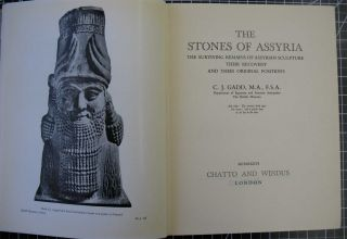 THE STONES OF ASSYRIA: The Surviving Remains of Assyrian Sculpture, Their Recovery and Their Original Positions
