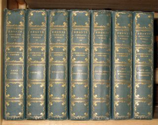 LIFE AND WORKS OF THE SISTERS BRONTE. (Thornfield Edition, Illustrated. Complete in Seven Volumes). Bronte, Anne Charlotte, Emily., Clement K. Shorter, Mrs. Humphrey Ward, an Introduction, Notes to the.