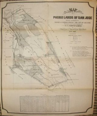 THE HISTORY OF SAN JOSE AND SURROUNDING with Biographical Sketches of Early Settlers. Illustrated with Map and Engravings on Stone