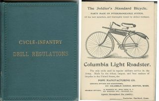 CYCLE-INFANTRY DRILL REGULATIONS. Prepared by Brig. Gen. Albert Ordway. Adapted March 25, 1892....