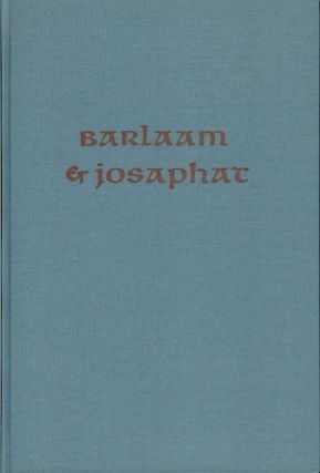 BARLAAM and JOSEPHAT. Allen Press, William Caxton