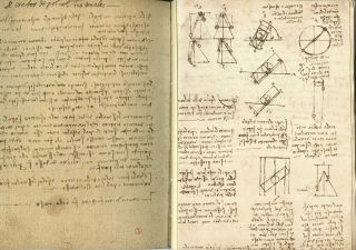 THE CODEX ON THE FLIGHT OF BIRDS in the Royal Library at Turin. Leonardo da Vinci. Text volume, Augusto Marinoni., Carlo Pedretti.