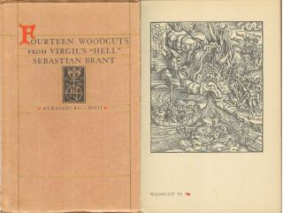 DESCENSUS AVERNO: Fourteen Woodcuts Reproduced from Sebastain Brant's Virgil. Strassburg MDII....