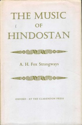 THE MUSIC OF HINDOSTAN. A. H. Fox Strangways