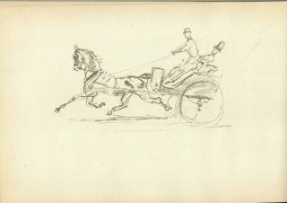 A SKETCH BOOK BY TOULOUSE-LAUTREC. Owned by the Art Institute of Chicago.