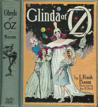 GLINDA OF OZ. L. Frank Baum.