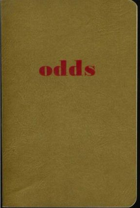 ODDS: The Player's Guide to Dice, Poker, Pinochle, Blackjack, Twenty-One, Gin-Rummy, Bridge, Stud, & the Races.