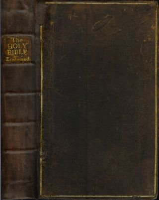 THE HOLY BIBLE, OR THE OLD AND NEW TESTAMENT EXPLAINED BY QUESTION AND ANSWER:; from the...