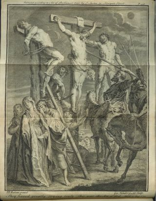 THE HOLY BIBLE, OR THE OLD AND NEW TESTAMENT EXPLAINED BY QUESTION AND ANSWER:; from the writings of the most eminent historians, divines, and commentators; containing many useful and entertaining parts of knowledge; and embelished with proper maps and other ornamental and instructive representations, designed for the promoting of Christian knowledge.