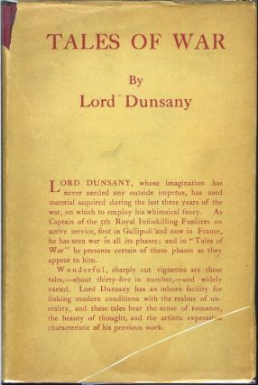 TALES OF WAR. Lord Dunsany