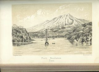 """A YEAR IN THE NEW HEBRIDES, LOYALTY ISLANDS, AND NEW CALEDONIA. With An Account of the Early History of the New Hebrides Missions, by A. J. Campbell, Geelong; A Narrative of the Voyages of the """"Dayspring"""" by D. M'Donald, D.D.; and An Appendix Containing a Contribution to the Phytography of the New Hebrides by Baron von Mueller."""