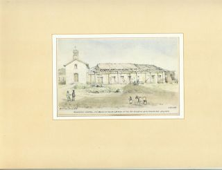 EDWARD VISCHER'S DRAWINGS OF THE CALIFORNIA MISSIONS 1861-1878.