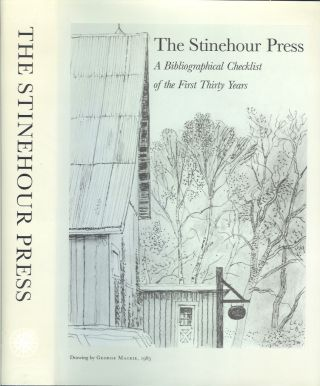 THE STINEHOUR PRESS: A Bibliographical Checklist of the First Thirty Years. Selected and, David Farrell., Robert Stinehour.