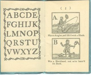 THE ROYAL ALPHABET, or, Child's Best Instructor, to which is Added, the History of the Little Boy Found Under a Haycock.