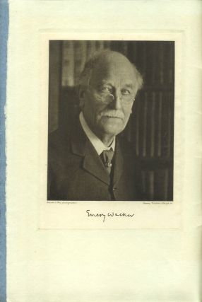 SIR EMERY WALKER, Born 2nd April 1851, Died 22nd July 1933.