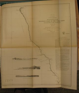 SKETCHES ACCOMPANYING THE ANNUAL REPORT OF THE SUPERINTENDENT OF THE UNITED STATES COAST SURVEY. 32nd Congress, 2d Session. Senate. Ex. Doc. No. 3. (Cover title: Maps - Coast Survey).