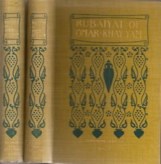 THE RUBAIYAT OF OMAR KHAYYAM: English, French, and German translations comparatively arranged in...