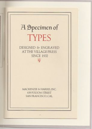 """FREDERIC W. GOUDY'S PROPRIETARY TYPEFACES AND THE """"LOST"""" GOUDY TYPES."""